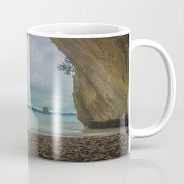 Dawn at Cathedral Cove Coffee Mug