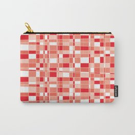 Mod Gingham - Red Carry-All Pouch