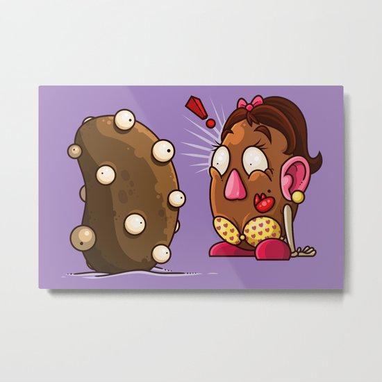 Potato Potaato Metal Print