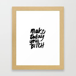 Motivation Framed Art Print