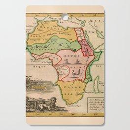 Map Of Africa 1764 Cutting Board