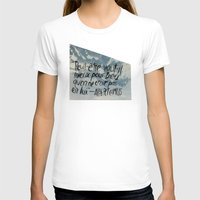 camus T-shirts featuring OH NO CAMUS AGAIN by Josh LaFayette