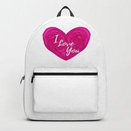 Pink Marker Valentine Backpack