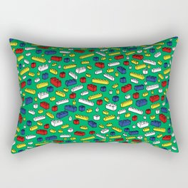 Brick by Brick Rectangular Pillow