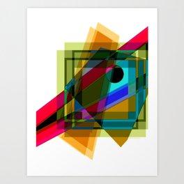 Chasoffart-Abs 71e Art Print