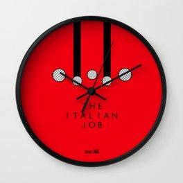 Italian Job Wall Clock