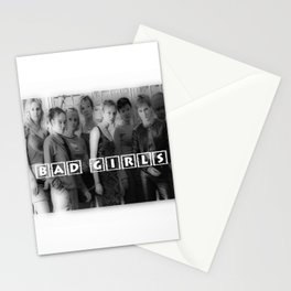 BAD GIRLS Stationery Cards