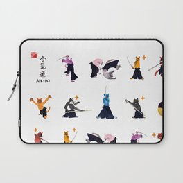 Fierce cats by yoonhyehe Laptop Sleeve