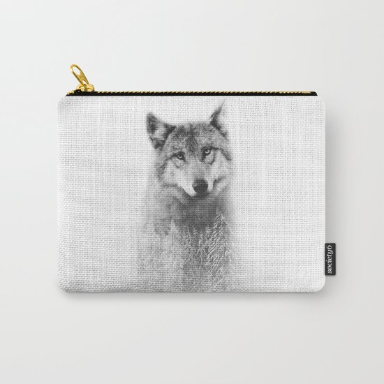 The Wolf and the Forest Carry-All Pouch