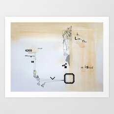 cleaning day Art Print