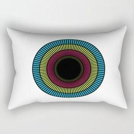 Colorful illusions Rectangular Pillow