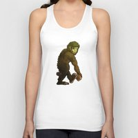 bigfoot Tank Tops featuring Bigfoot by JoJo Seames