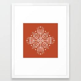 Shovelflake 5: Hot Cocoa Framed Art Print