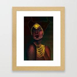 Madame de Fer Framed Art Print