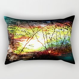 Footprint Rectangular Pillow