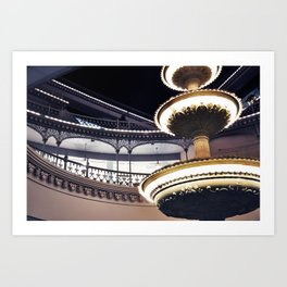 Crescent Court Art Print