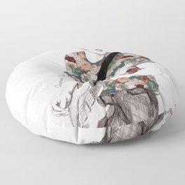 Floral Niall Floor Pillow