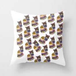 Professor BoBo Throw Pillow