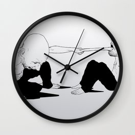 sore loser Wall Clock