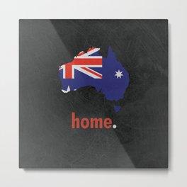 Australia Proud Metal Print