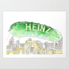 Picklesburgh Art Print