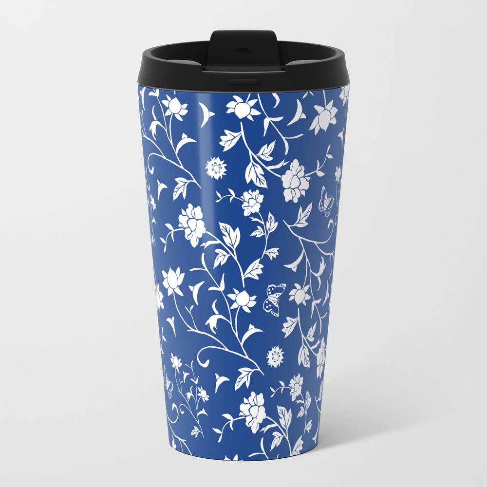 Blue China Travel Mug TRM8102330