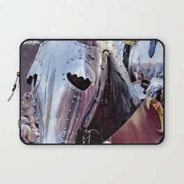 Armoured Horse And Knight Laptop Sleeve