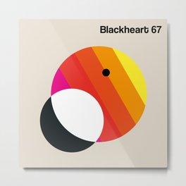 Blackheart 67 Metal Print