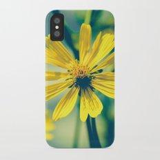 Yellow Sunshine iPhone X Slim Case