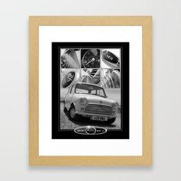 Austin Mini MK 2 Framed Art Print