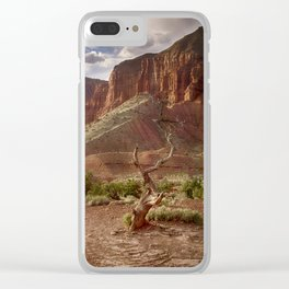 Mountains at Capitol Reef National Park - Utah Clear iPhone Case