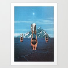 The Worshippers - Thom Easton Collaboration Art Print