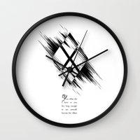 harley quinn Wall Clocks featuring Harley Quinn  by irastonem