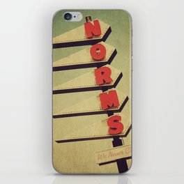 Norm's  iPhone Skin