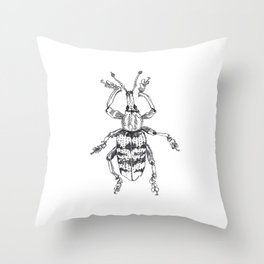 Weevil Throw Pillow