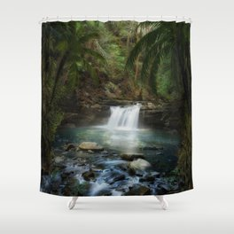 The Jungle 2 Shower Curtain