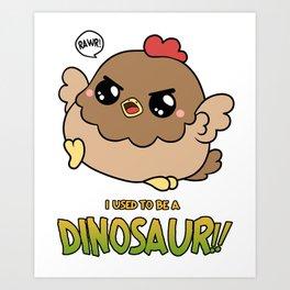 Dino Nuggets Art Print