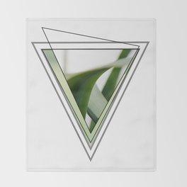 Green V #photography #minimal #design #kirovair #buyart Throw Blanket