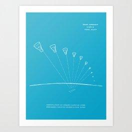 Gemini Capsule Tracking Art Print