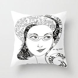 Always on my Mind Throw Pillow