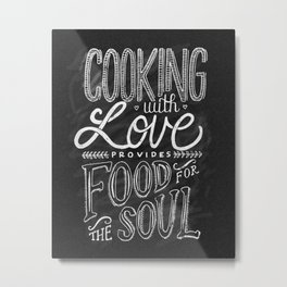 Feed Your Soul Metal Print