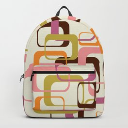 Mid Century Mod Shapes Backpack
