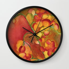 Berries Wall Clock