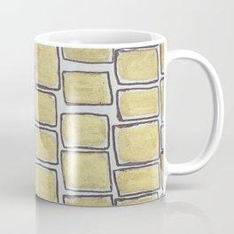 Metallic Squares Coffee Mug