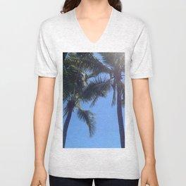 Florida Palms Unisex V-Neck