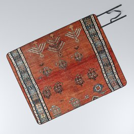 Bakhshaish Azerbaijan Northwest Persian Carpet Print Picnic Blanket