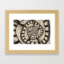 Time? Framed Art Print