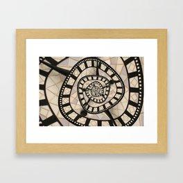 Time? Framed Art Print