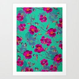 flowers / 72 Art Print