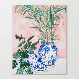 Friendship Plant Canvas Print